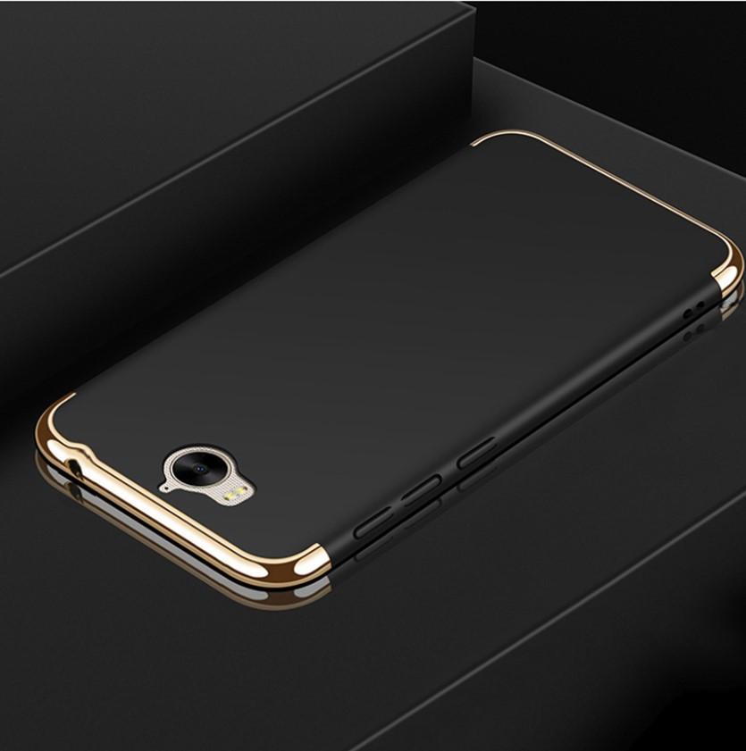 Чехол с золотыми вставками для Huawei Y5 2017 (2 Цвета)