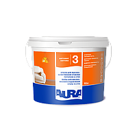 Aura Luxpro 3 Белая 10л водостойкая матовая краска для внутренних работ арт.4820166520954