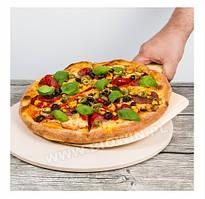 312006 Камень для пиццы  круглый 33 см  с лопаткой  Biowin