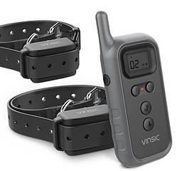 Набор электронных ошейников для дрессировки 2Х собак Vinsic