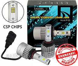 Автомобильные светодиодные лампы «Napo» LED G9 (HB3)(6000K)(8000lm)(36W)(12-24V)