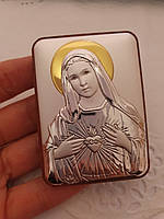 Пасхальная икона Непорочное сердце Марии, фото 1