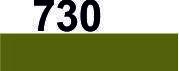 Мулине DMC (Франция) 730 Оливково-зеленый, оч.т.