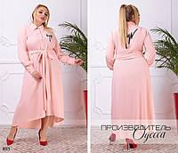 Платье рубашка хвост под пояс,ткань бонд,размеры:42-44,46-48.