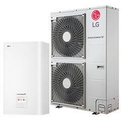 Тепловой насос LG Therma V HN1616.NK3/HU091.U43