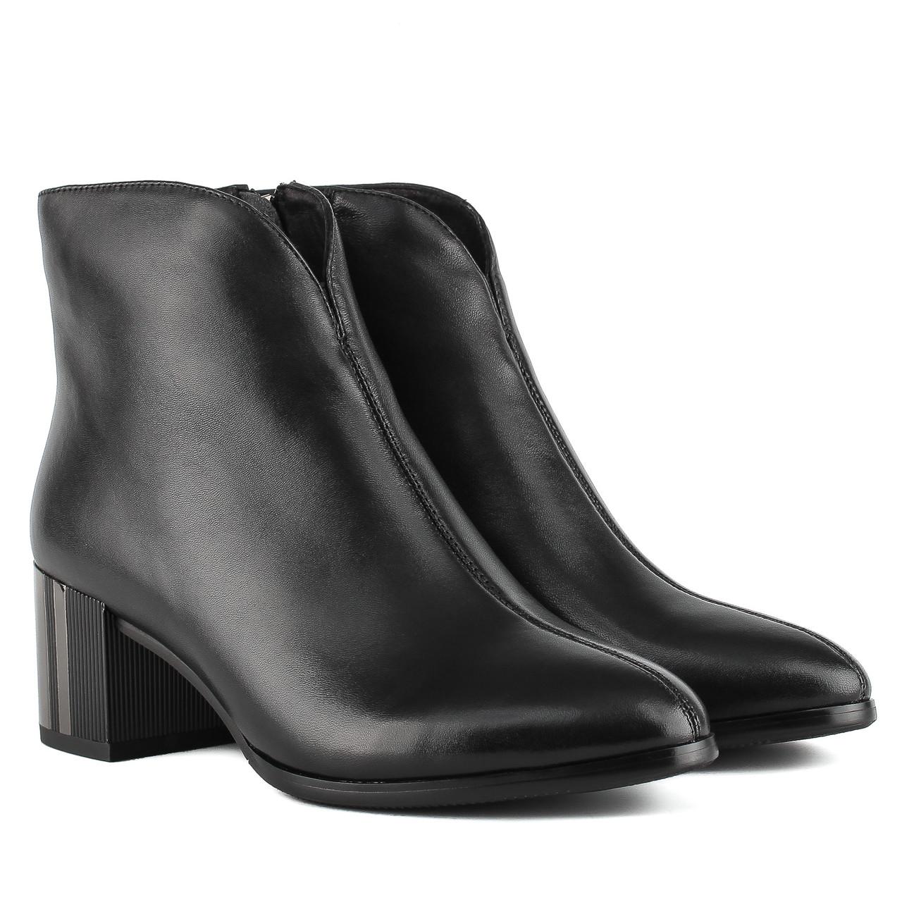 Ботильоны женские My Classic (кожаные, элегантные, стильные, качественные)