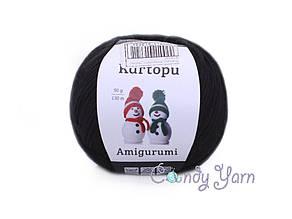 Kartopu_Amigurumi_Черный №940