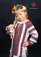 Вышитая сорочка для девочки 0154, фото 1