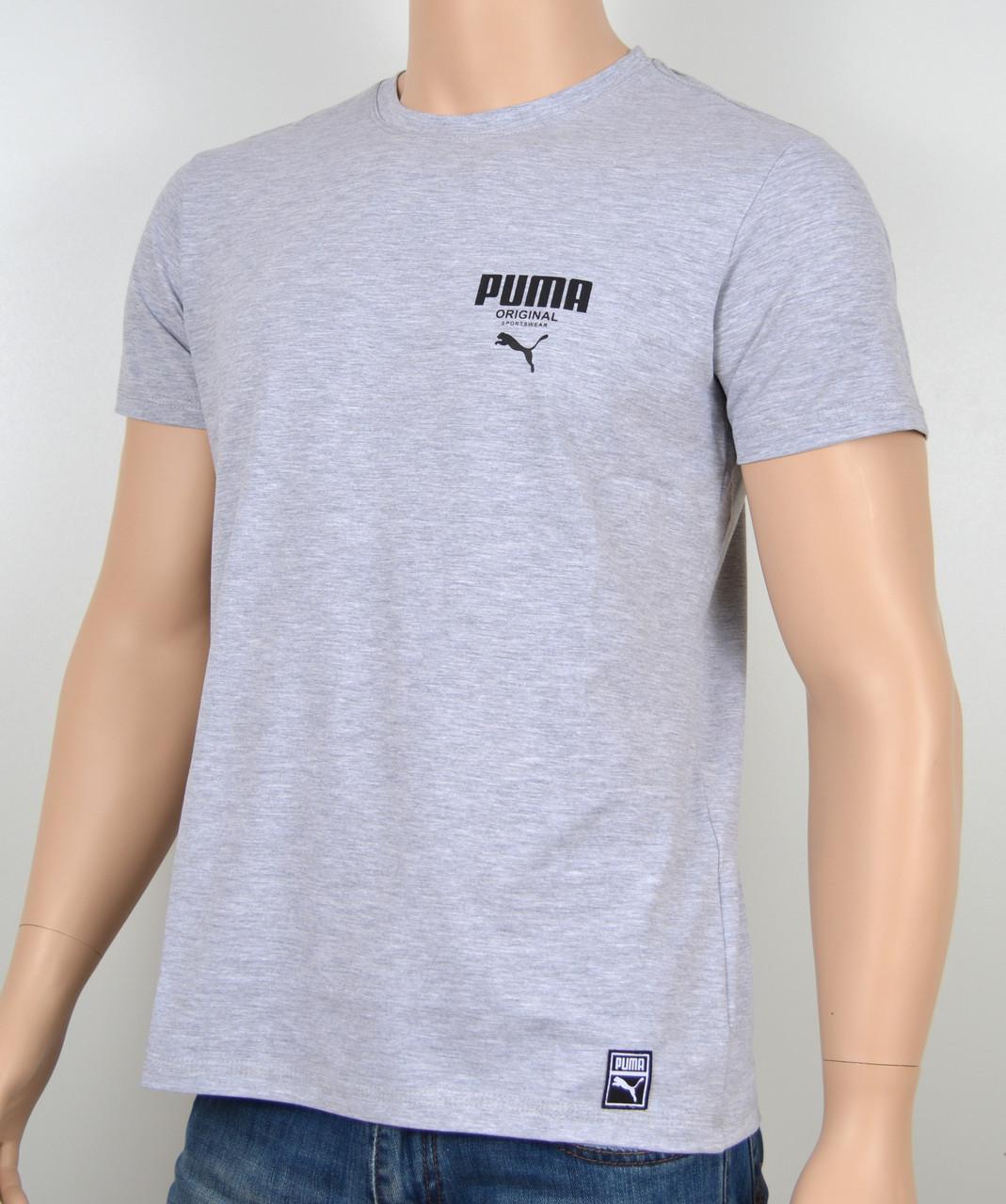 Футболки Puma оптом. PM1802 меланж