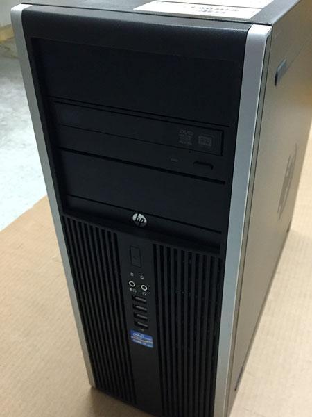 Системный блок, компьютер, Intel Core i3 3220, 4 ядра по 3,3 ГГц, 6 Гб ОЗУ DDR-3, SSD 120 Гб, видео 1 Гб