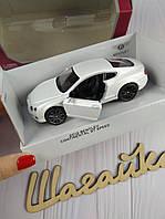 Машинка детская металл в коробке Бентли