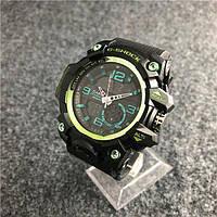 Наручные мужские часы Casio G-Shock GG-1000 Black-Green, фото 1