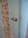 Стеклянная душевая дверь 600*1800 коричневая, фото 6