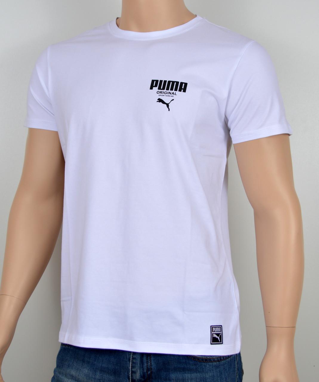 Футболки Puma оптом. PM1802 белый