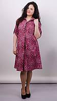 Плаття-сорочка Палма рожевий , фото 1