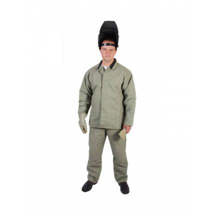Костюм брезентовый Сварщик с огнестойкой пропиткой, фото 2