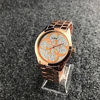 Наручные женские часы Guess 6990 Silver-Gold Pink, фото 1