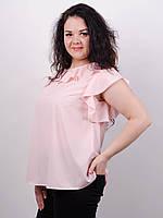 Женская легкая блуза больших размеров Руна, фото 1