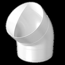 Колено круглое Эра ABS-пластик 45° 100 мм (60-434)