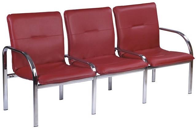 Кресло для ожидания STAFF-3 chrome, фото 2