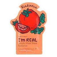 Тканевая маска для лица Tony Moly I`m real TOMATO Mask Sheet