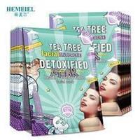 Тканевая маска против акне Hemeiel Detoxified Facial Mask