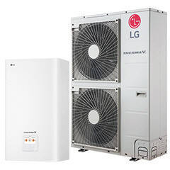 Тепловой насос LG Therma V HN1639.NK3/HU163.U33