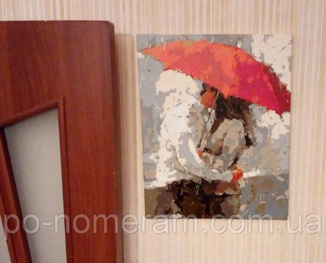 Раскраска по номерам Mariposa Красный зонт отзывы