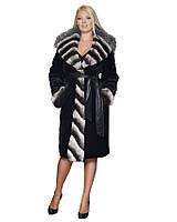 Шуба женская  Oscar Fur  85  Черный