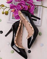 Лаковые туфли с заклепками, фото 1