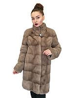 Шуба норковая  Oscar Fur 496 Серый, фото 1