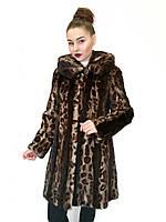 Шуба норковая Oscar Fur 428  Гепардовый , фото 1