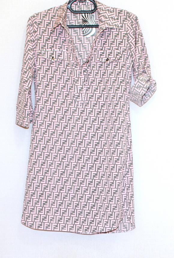 Платье - рубашка, рукав 3/4(56), фото 2