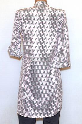 Платье - рубашка, рукав 3/4(56), фото 3