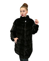 Шуба норковая  Oscar Fur   502  Черная, фото 1