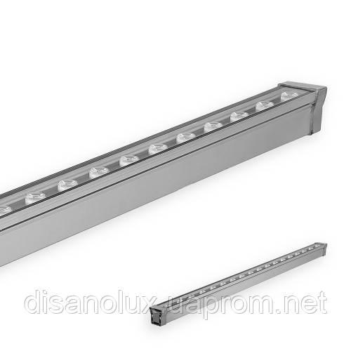 Led  линейный  светильник для архитектурной подсветки  LL-889 18W  2700K  220V IP65