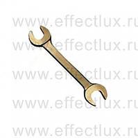 Ключ рожковый двухсторонний  8х10   омедненный