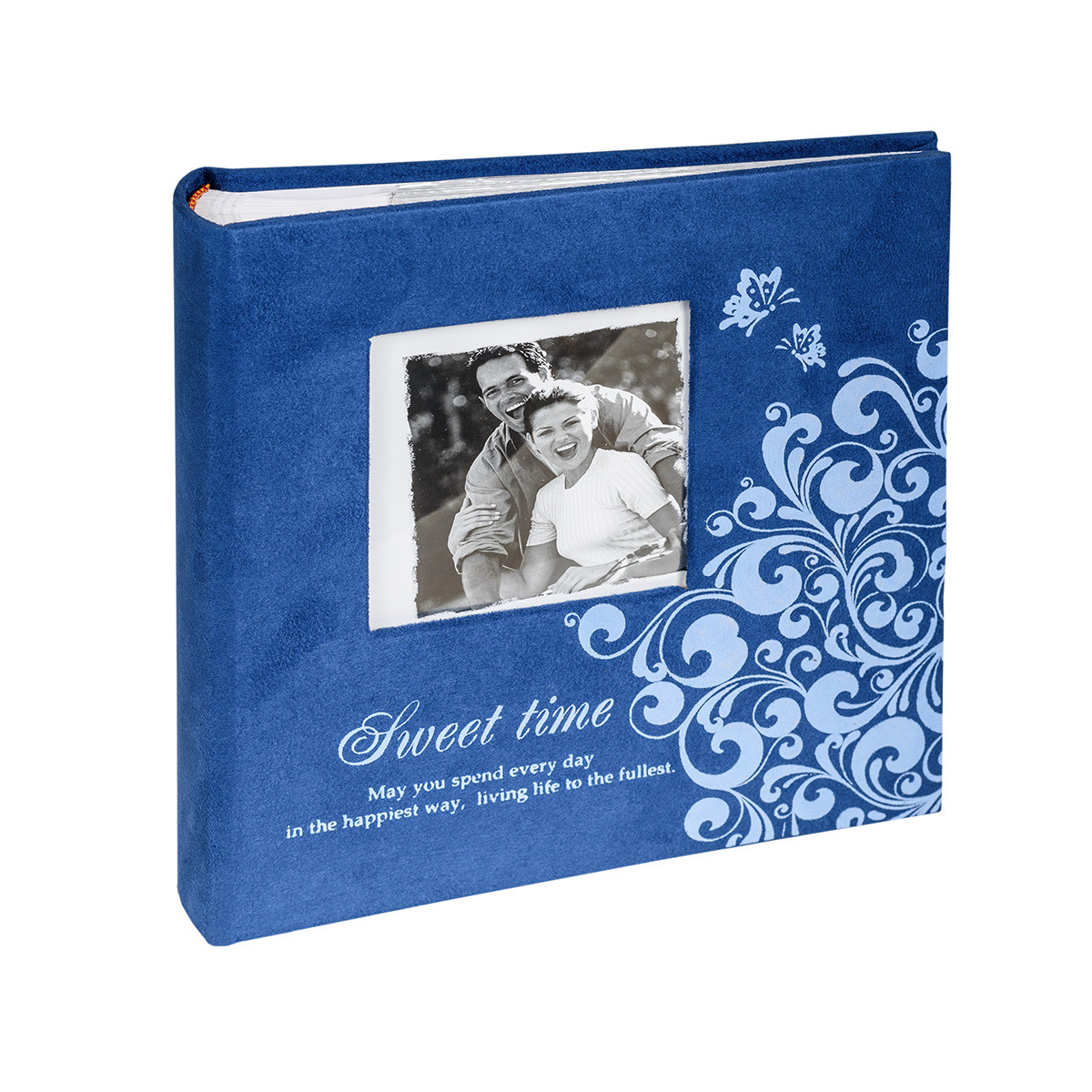 Альбом CHAKO 10*15/200 PC-46200RCK Lovestory Delux синій