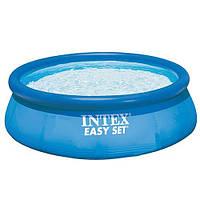 Бассейн наливной семейный Intex 28143 с фильтр-насосом