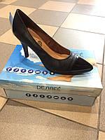 Туфлі жіночі шкіряні на каблуку , виробництва Іспанії