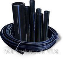 Труба полиэтиленовая питьевая водопроводная 25 х 2,3 мм 10 атм. (усиленная) от производителя !