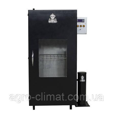 Коптильня холодного копчения с функцией вяления  вместимость до 20 кг ТМ ДК, фото 2