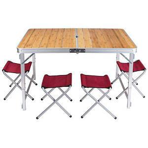 Стол со стульями Camping, код: GC-9001