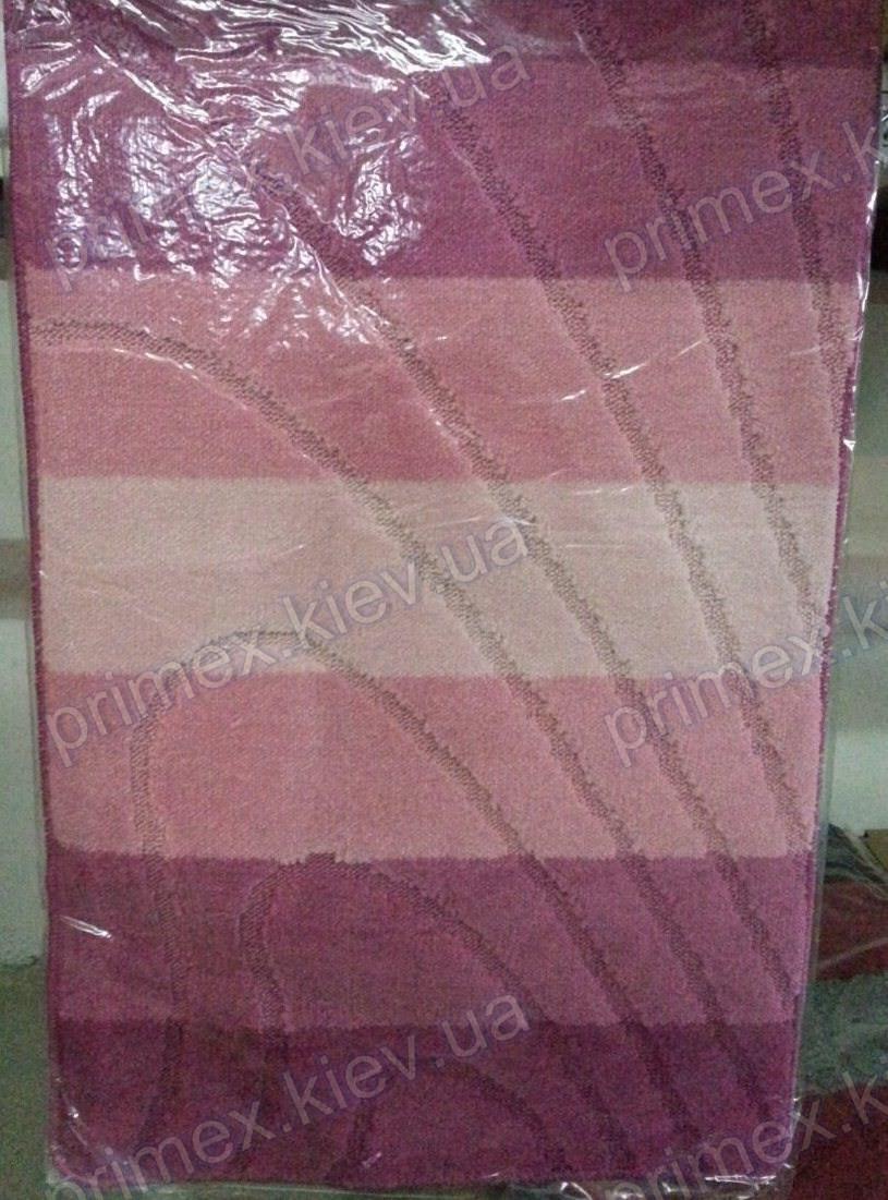 "Набор ковриков для ванной, 60х100 + 60х50см. ""Ice cream sandwich"", цвет розовый"