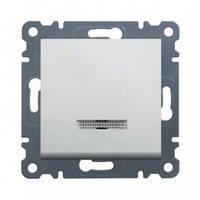 Выключатель с подсветкой универсальный Lumina-2 16А/230В белый