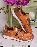 Женские  кроссовки  шнуровке, фото 1