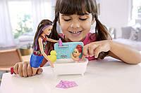Набір барбі Скіппер няня купання Barbie Skipper Babysitters, фото 1
