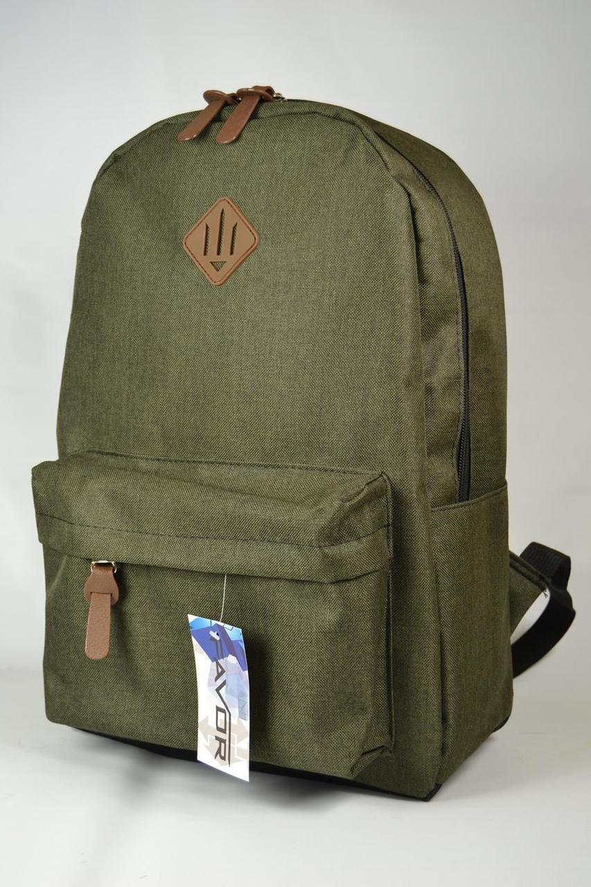 Міський рюкзак хакі (городской молодежный рюкзак хаки)