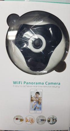 Wi-Fi камера видеонаблюдения 360 градусов панорамная рыбий глаз