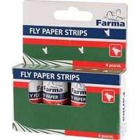Липучка для мух круглая (Farma)  упаковка 4 шт.